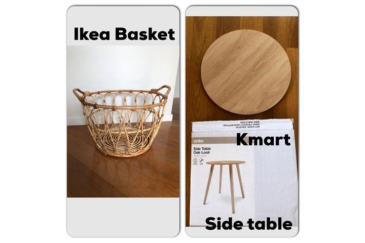 The 5 Kmart Hack That Transformed This Fridge Ikea Coffee Table