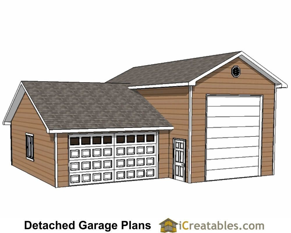 Rv Garages Plans House And Images Walk Out Basement Home RV Garage Front