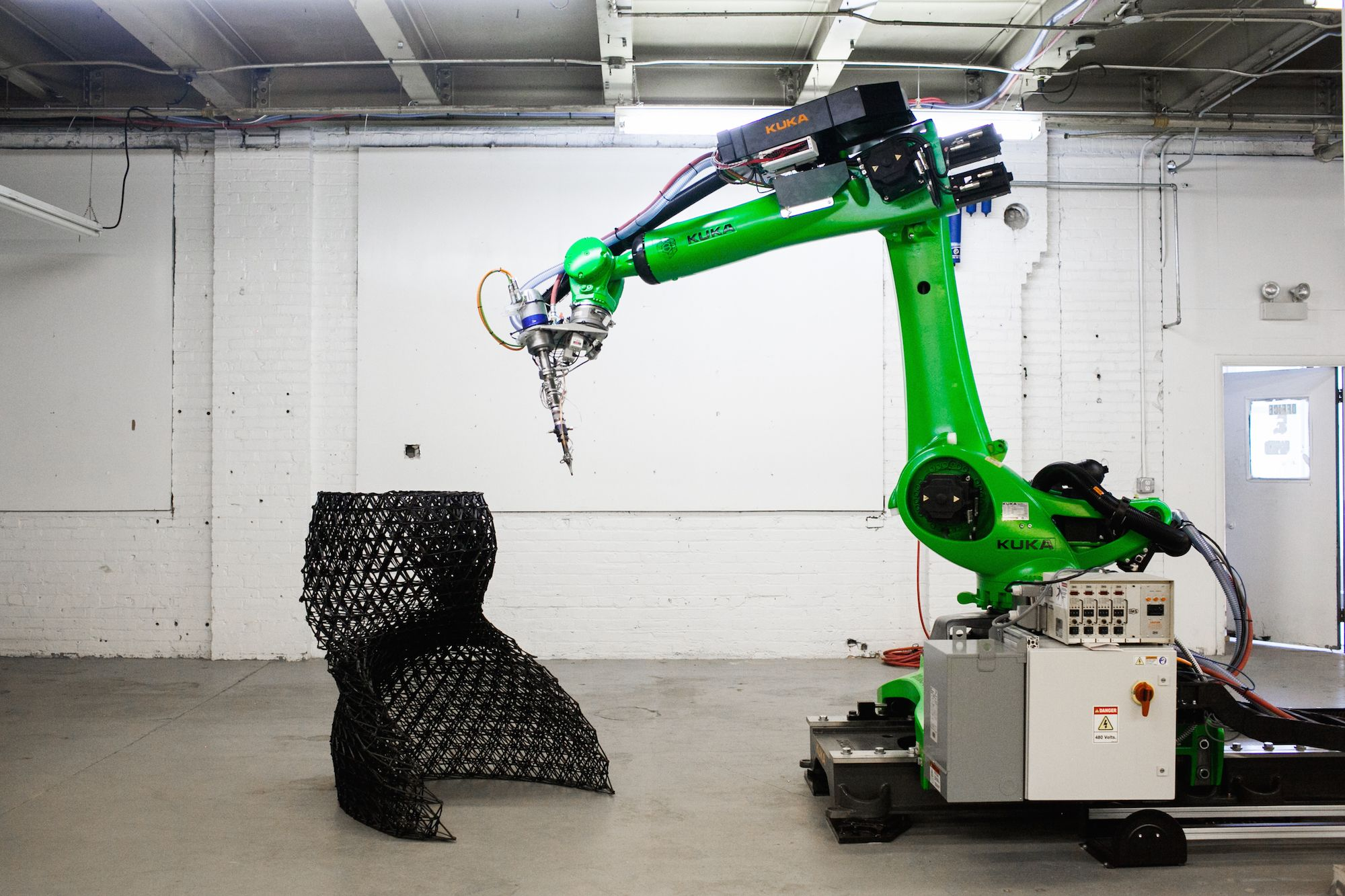Branch Technology 3d Prints Building Walls With World S Largest Freeform 3d Printer Launches 3d Printed Home Competition 3dprint Com The Voice Of 3d Print 3d Printed House 3d Printing
