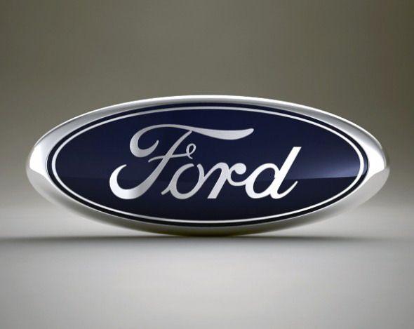 3d Models Ford Logo 3docean Ford Logo Ford 3d Model