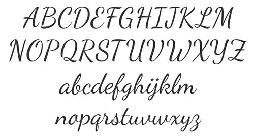 Related Keywords Suggestions For Simple Pretty Cursive Fonts