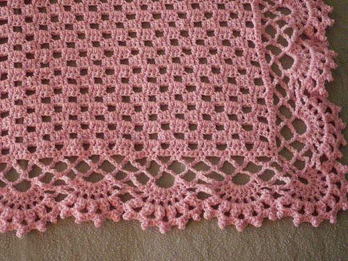 Ravelry: Delicate Souvenir pattern by Kay Meadors | mantas p bebes ...