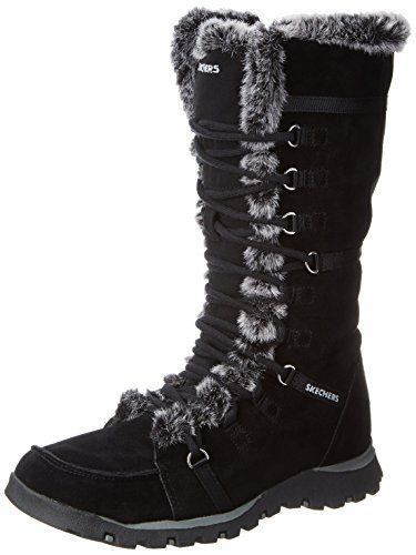 Skechers Womens Grand Jams Unlimited BootBlack8 M US -- Click image to  review more details