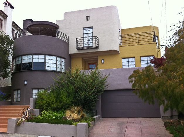 House designed by f harvey slocombe oakland california court