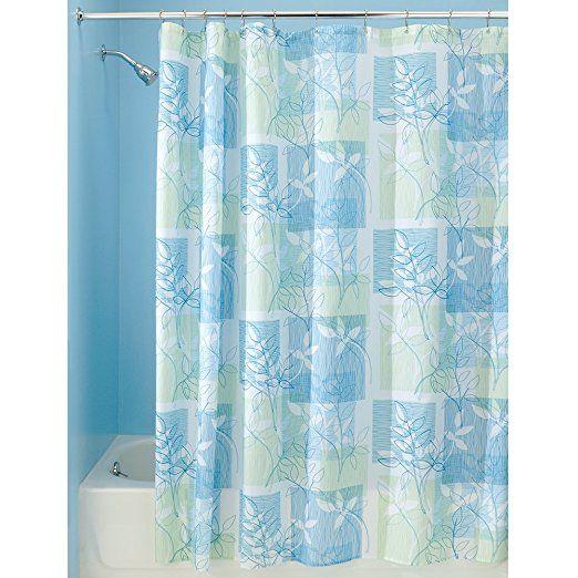 Interdesign Vivo Botanical Fabric Shower Curtain 72 Quot X