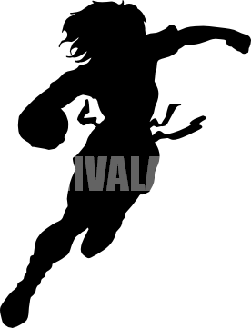 woman flag football silhouette tshirt ideas pinterest flag rh pinterest com flag football player clipart flag football clipart black and white