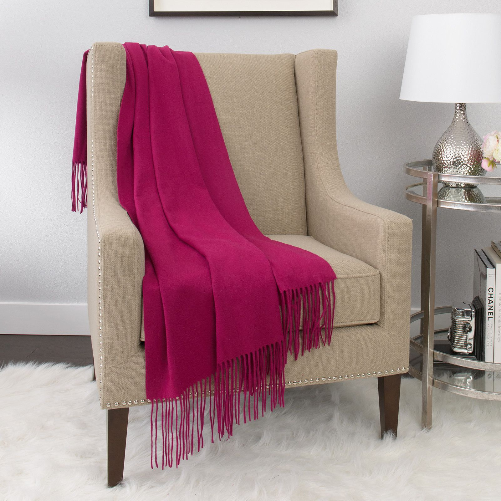 Anne Cashmere Blend Throw