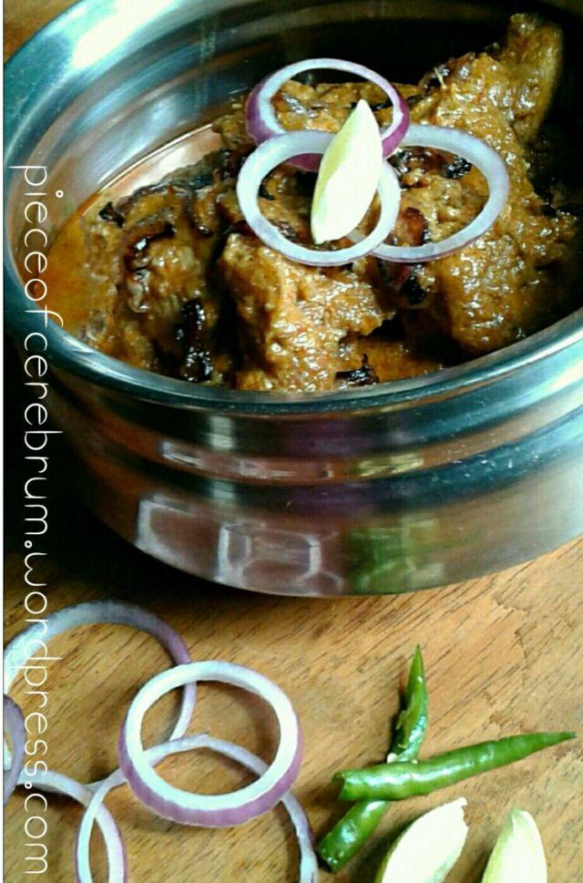 Hyderabadi Murgh Lazeez (Royal Chicken cooked Hyderabad style)  #EidMubarak #Eid #Ramadan #Indianblogger #Foodblogger #Indianfood