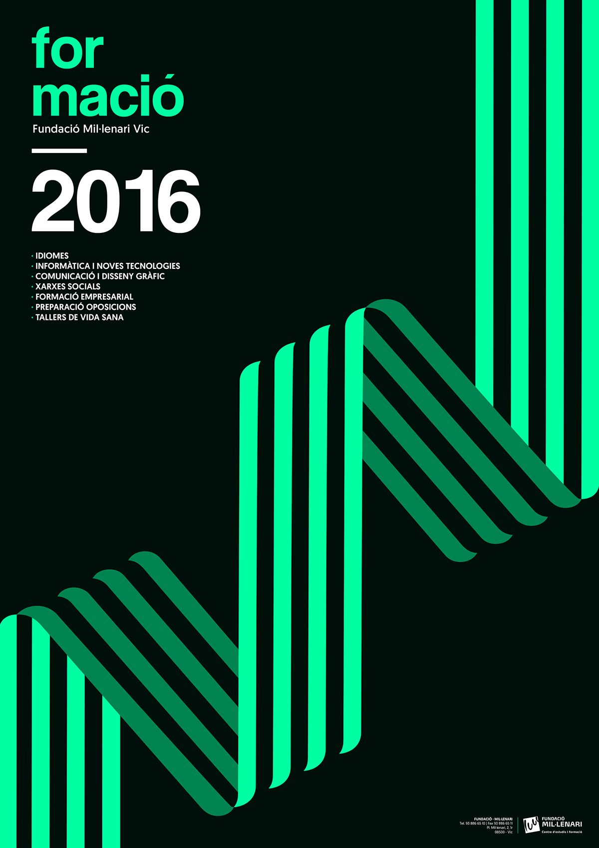 Poster design 2016 - Collection Of Minimalist Poster Design