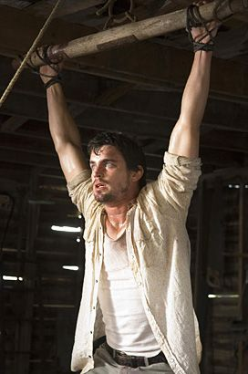 Matt Bomer in The Texas Chainsaw Massacre: The Beginning, 2006   One of Bomer's first major film roles involved costarring alongside Jordana Brewster in this remake of the horror classic. We're not sure what's going on in this scene, but we don't like it! - See more:http://www.snakkle.com/galleries/hot-gallery-take-a-look-back-at-white-collars-matt-bomer-through-the-years/matt-bomer-texas-chainsaw-massacre-2006-movie-photo-gc/