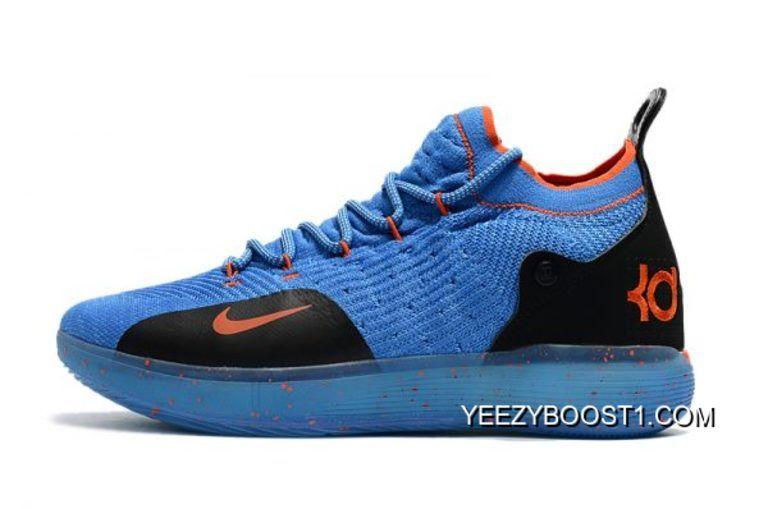 best sneakers fb6e7 54f87 Big Deals Nike KD 11 Royal Blue Black-Orange Men s Basketball Shoes   shoes  by BIG Jordans   Pinterest
