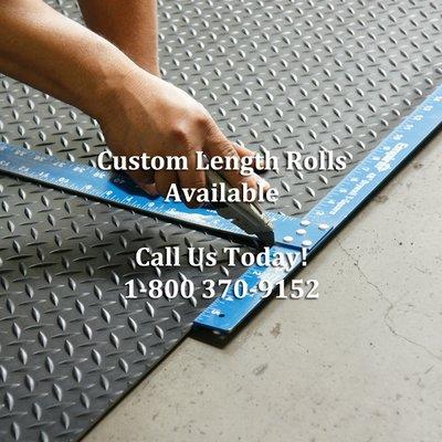 Diamond Plate Rubber Mat