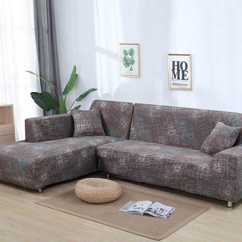 Geometric Sofa Cover Set Corner Sectional Sofa Sofa Covers Sectional Sofa Slipcovers