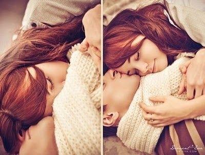 Cute Cuddling Couple Love Couples Hug Bed Cuddle Cozy