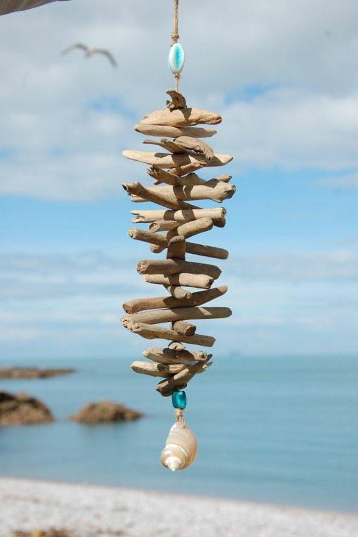 Basteln mit Treibholz: DIY Deko mit Erinnerungen an den Strandurlaub #boisflotté