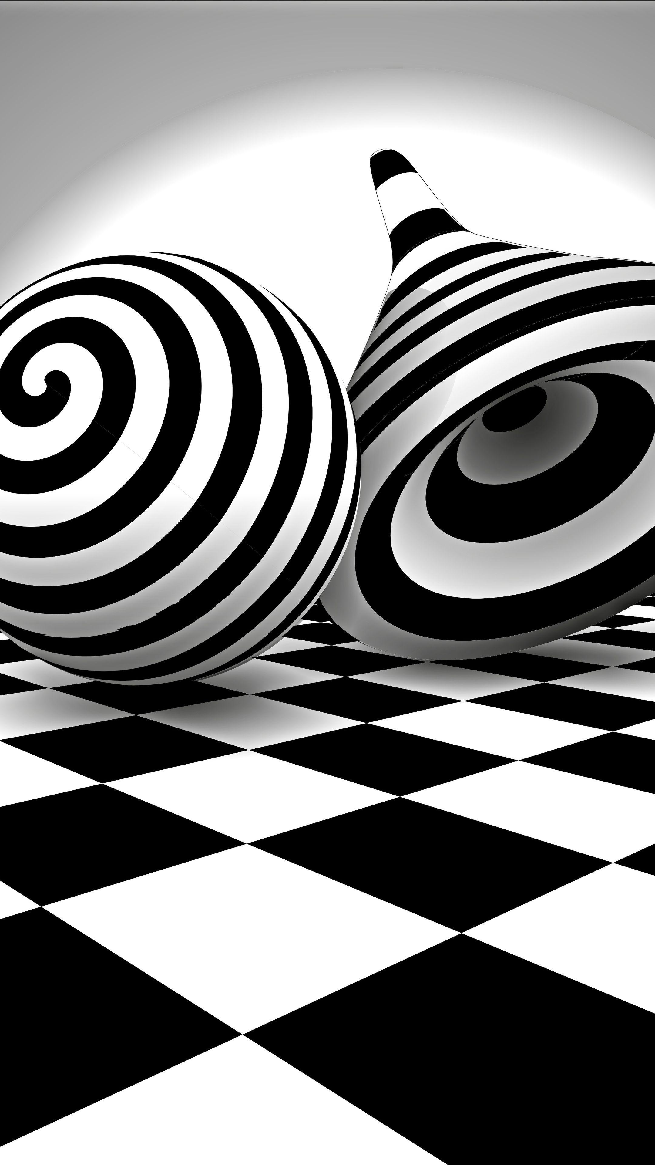 Misc Black White Optical Illusion Wallpapers Optical Illusions Illusions Phone Background Patterns