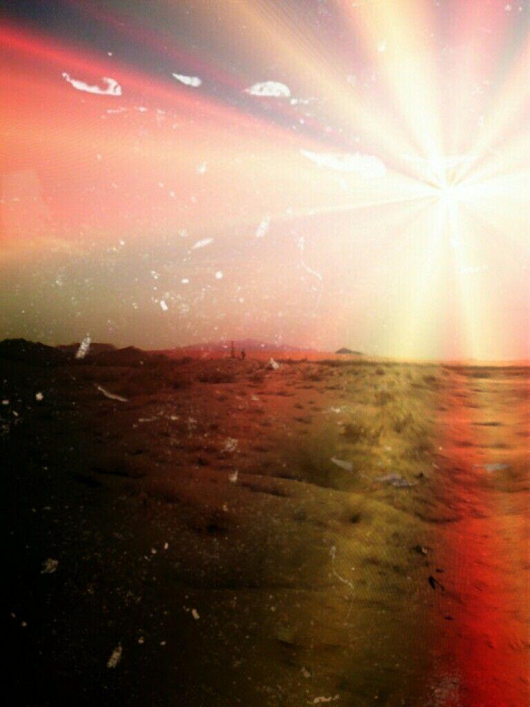 Desierto de altar en sonora mex. Junio2012