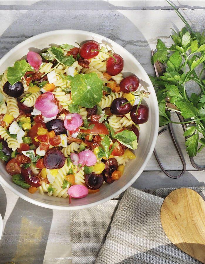 La salade de pâtes par Pierre Sang Boyer - 10 salades du0027été à tomber - cuisine d ete en pierre
