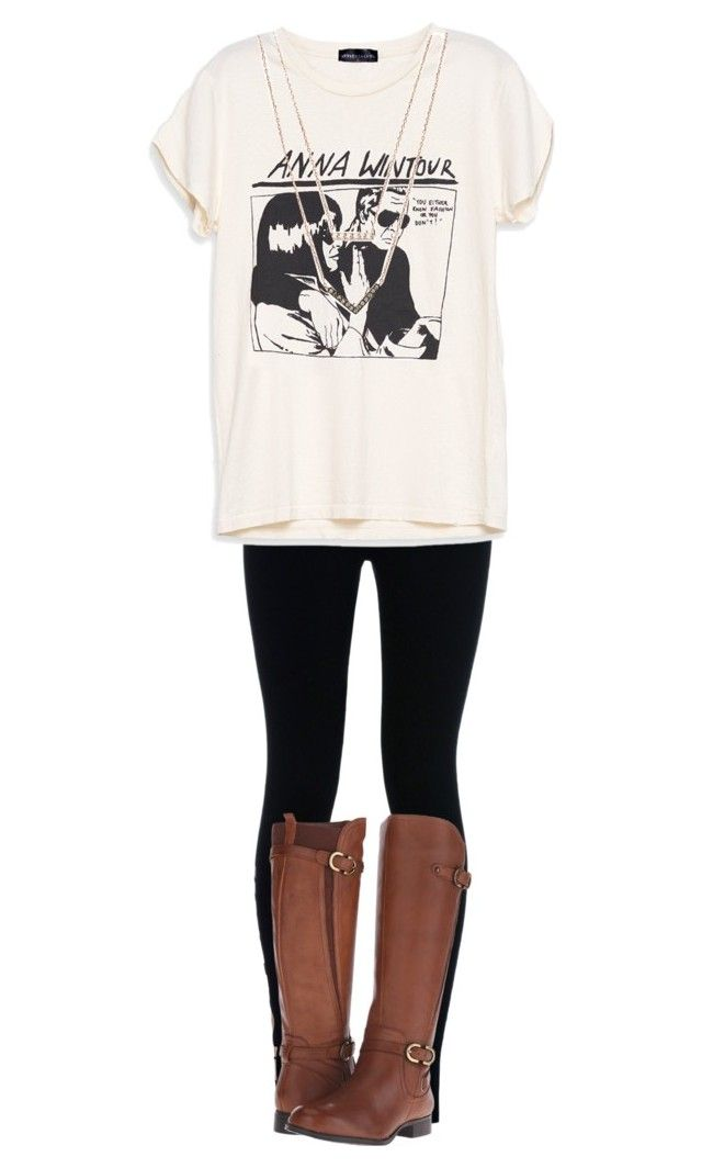 """""""When You Wear Black Leggings Every. Single. Day."""" by abbyd2403 ❤ liked on Polyvore featuring NIKE, Michael Kors, Naturalizer, women's clothing, women's fashion, women, female, woman, misses and juniors"""