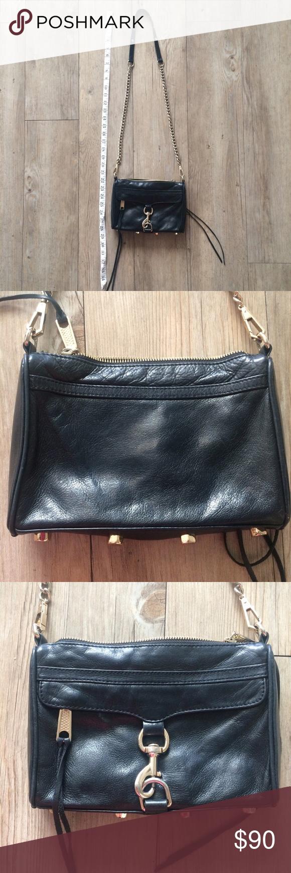 Rebecca Minkoff Mini Mac Crossbody Bag Has some wear but overall still good condition Rebecca Minkoff Bags Crossbody Bags