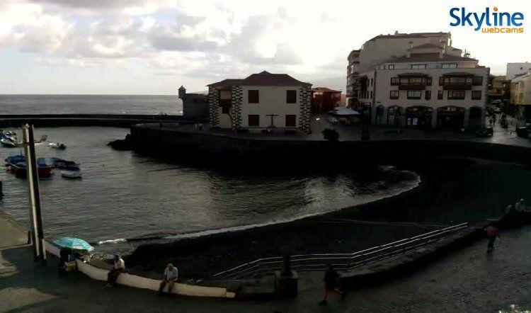 Hd live cam puerto de la cruz tenerife skyline webcams pinterest - Puerto de la cruz webcam ...