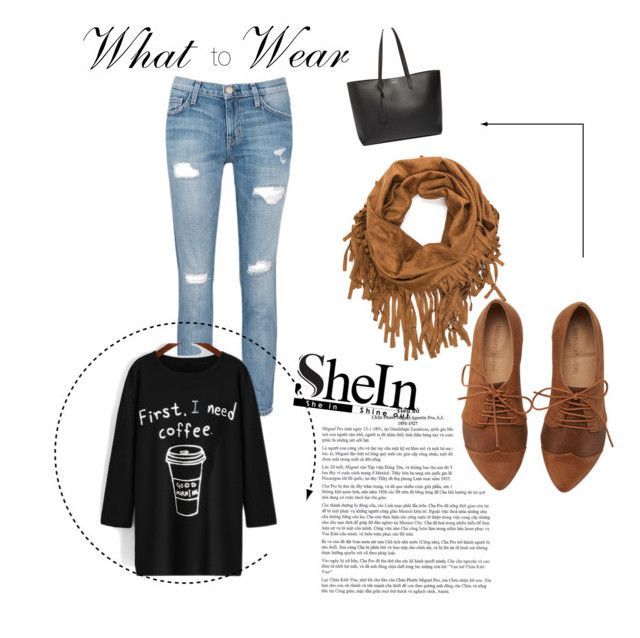 """""""Untitled #20"""" by velida-modric ❤ liked on Polyvore featuring Current/Elliott, Yves Saint Laurent, women's clothing, women's fashion, women, female, woman, misses and juniors"""