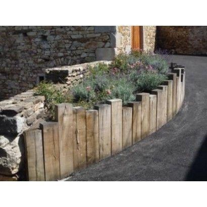 Resultat De Recherche D Images Pour Amenagement Traverse Chene Bordure Jardin Bois Amenagement Jardin Paysagiste
