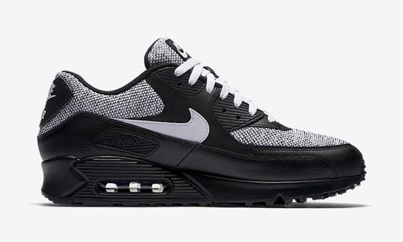 Nike Air Max 90 Essential Just Added A Black/Gray Version http://www