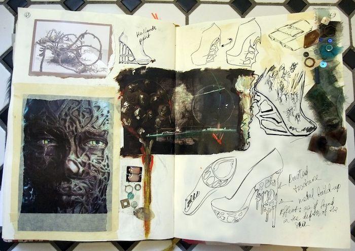 Fashion Sketchbook - the creative fashion design process // Anastasia Radevich
