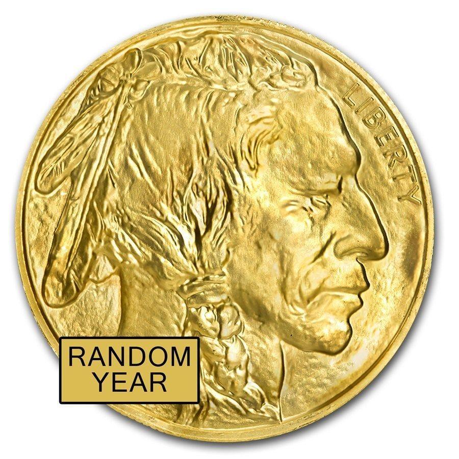 Us Mint 1 Oz American Gold Buffalo Random Date 50 Gold Coin 9999 Fine Bu Ebay Gold Coins Coins Gold American Eagle