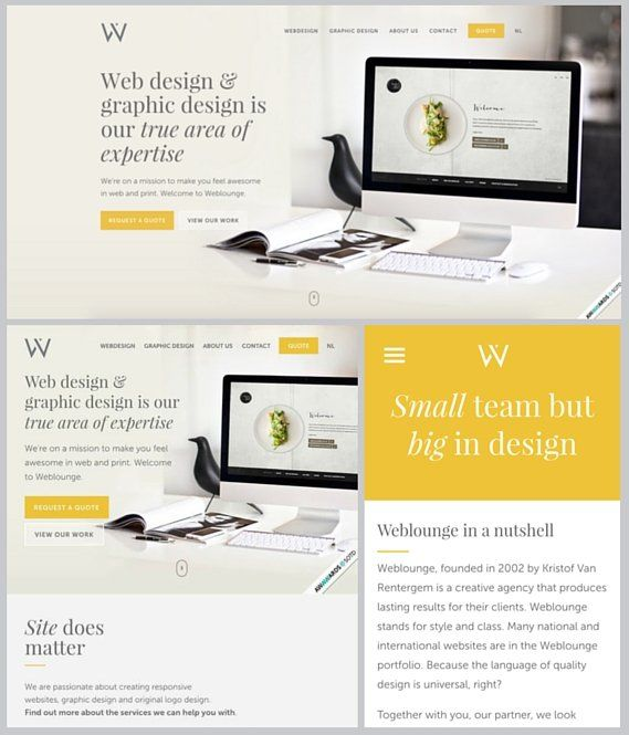 Responsive Web Design The Internet In 2016 Learn Web Design Web Design Examples Responsive Web Design