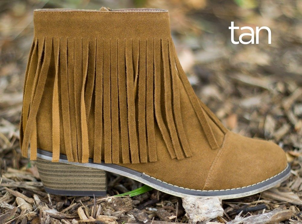 Fringe Ankle Booties | 8+ Options for Fall! Love these shoes!