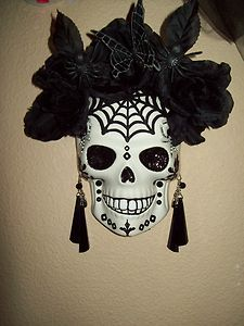day of the dead catrina mask spider web dia de los muertos on kim wall murder id=81869