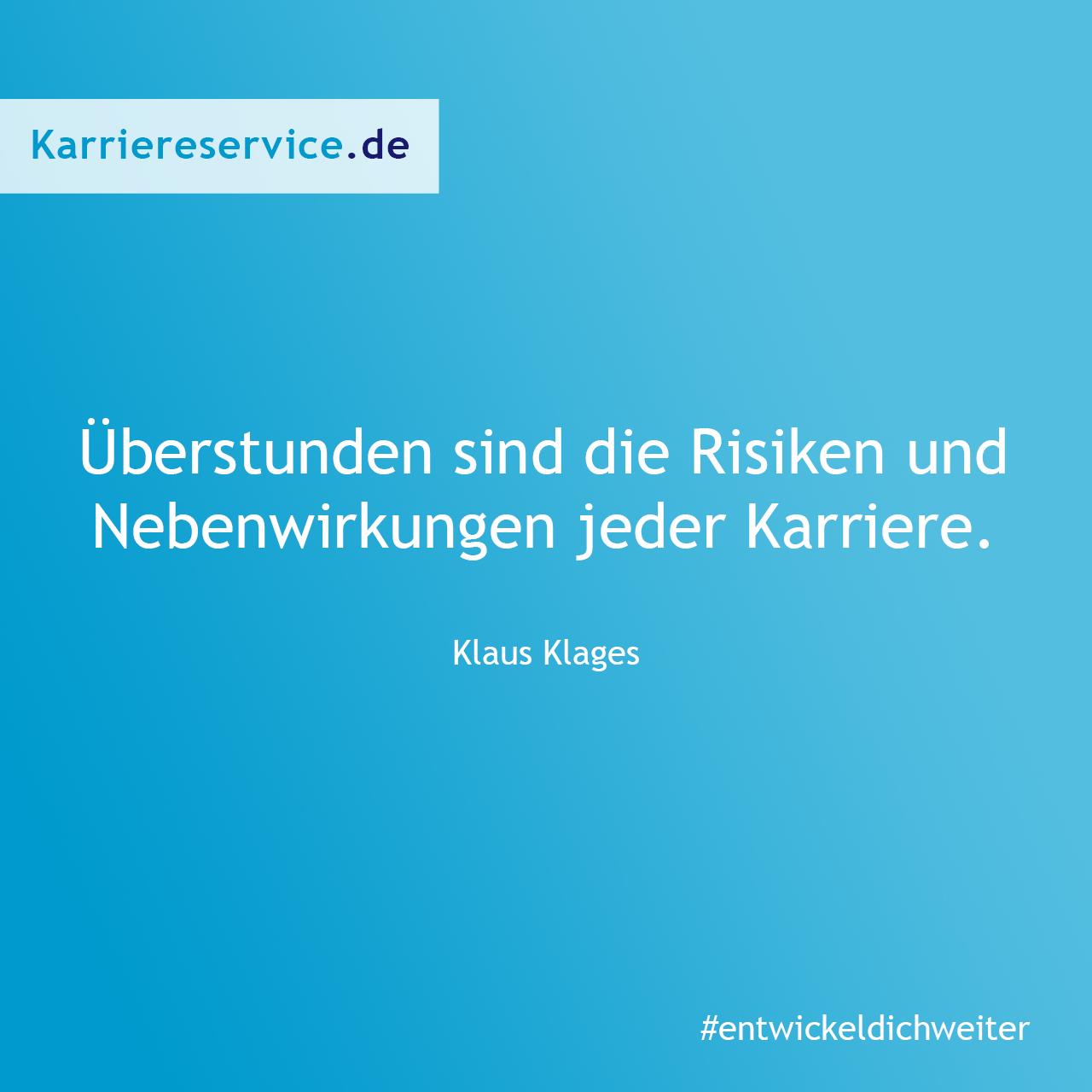 Die Risiken einer Karrier. | Karriereservice.de | Quote ...