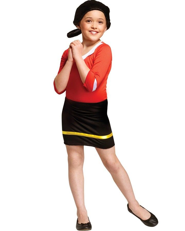 Olive Oyl Girls Costume Halloween Costume Ideas Pinterest - halloween costumes for girls ideas