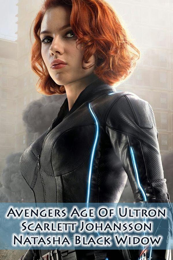 Scarlett Johansson Avengers Age Of Ultron Jumpsuit in 2020 ...