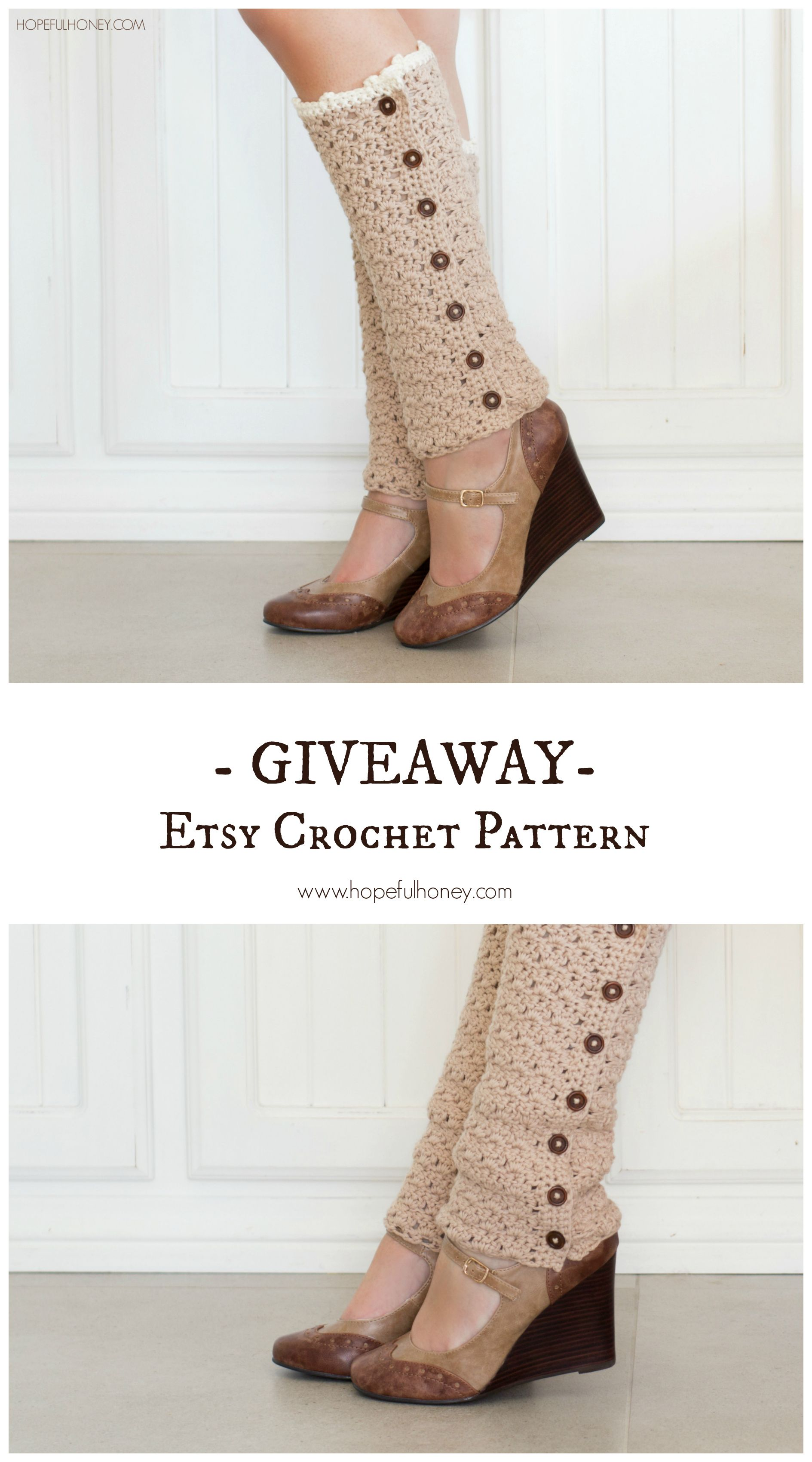 Vintage French Leg Warmers - Crochet Pattern + Giveaway | Telar, En ...