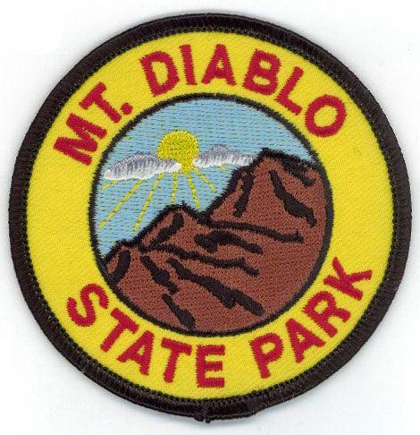 Mount Diablo Patch   California   Diablo, Patches, Accessories