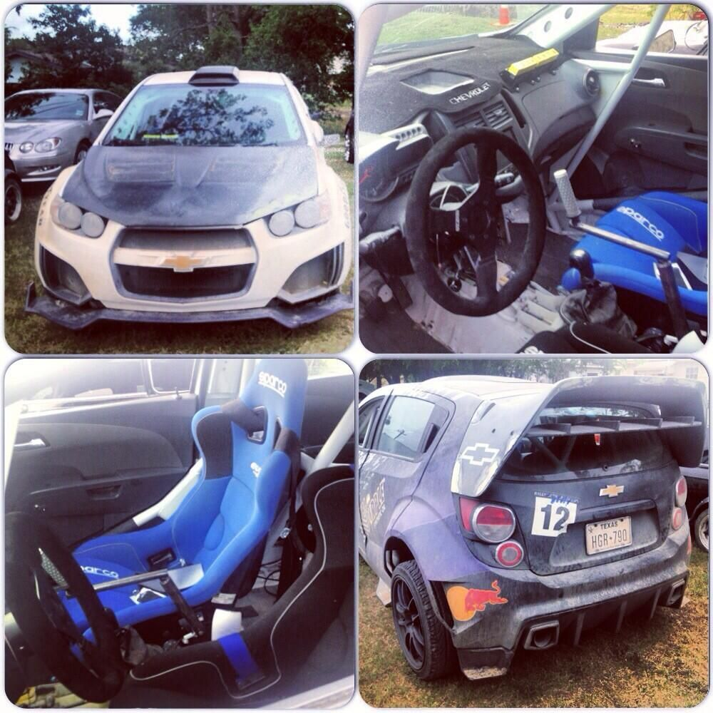 Chevy Sonic RS Rally Car from Transformers Age of Extinction