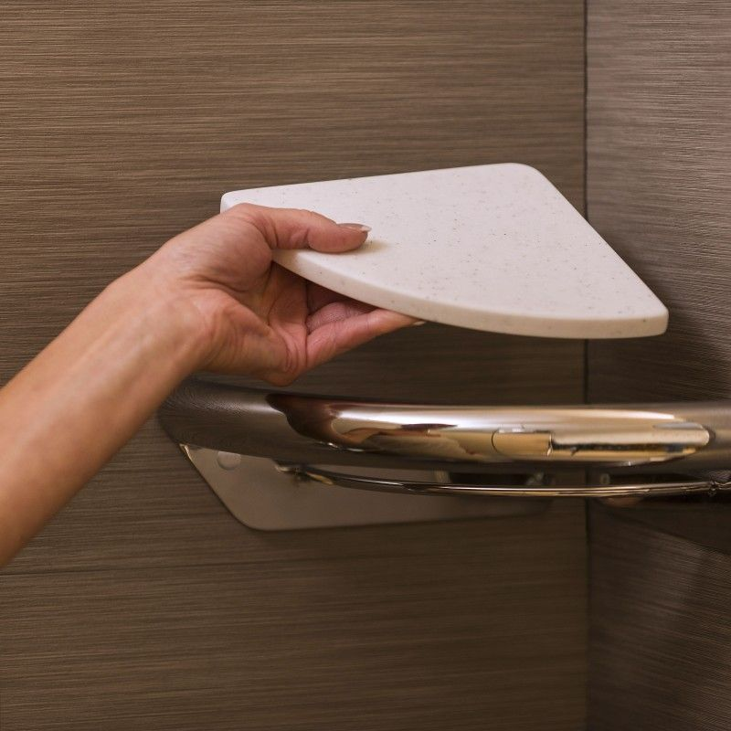 Corner Shelf - Invisia Collection | Bathroom | Pinterest | Corner ...