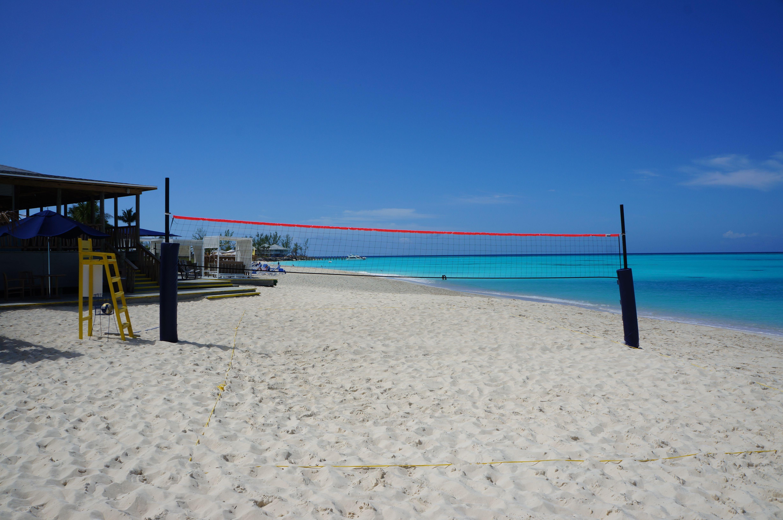 Club Med Columbus Island Empty Beach Volleyball Court At Midday Beach Volleyball Court Beach Island
