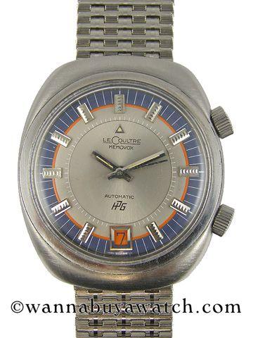 d5cbb78330b Jaeger Lecoultre SS Memovox 1970 S