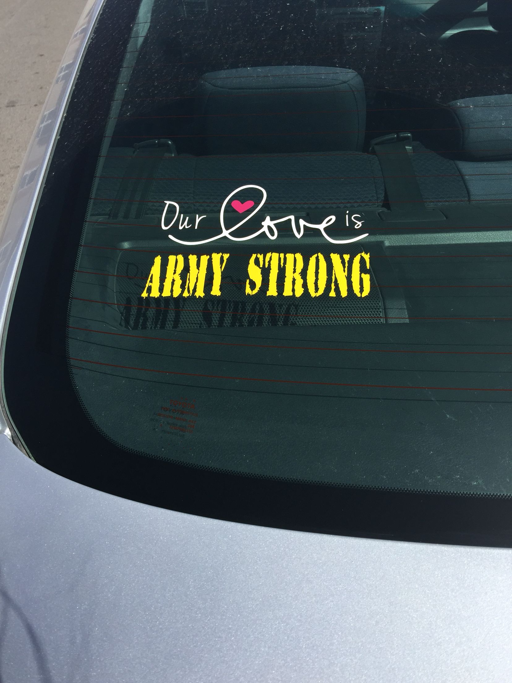 Army Strong Car Decal Army Wife Life Army Strong Army Spouse [ 2208 x 1656 Pixel ]