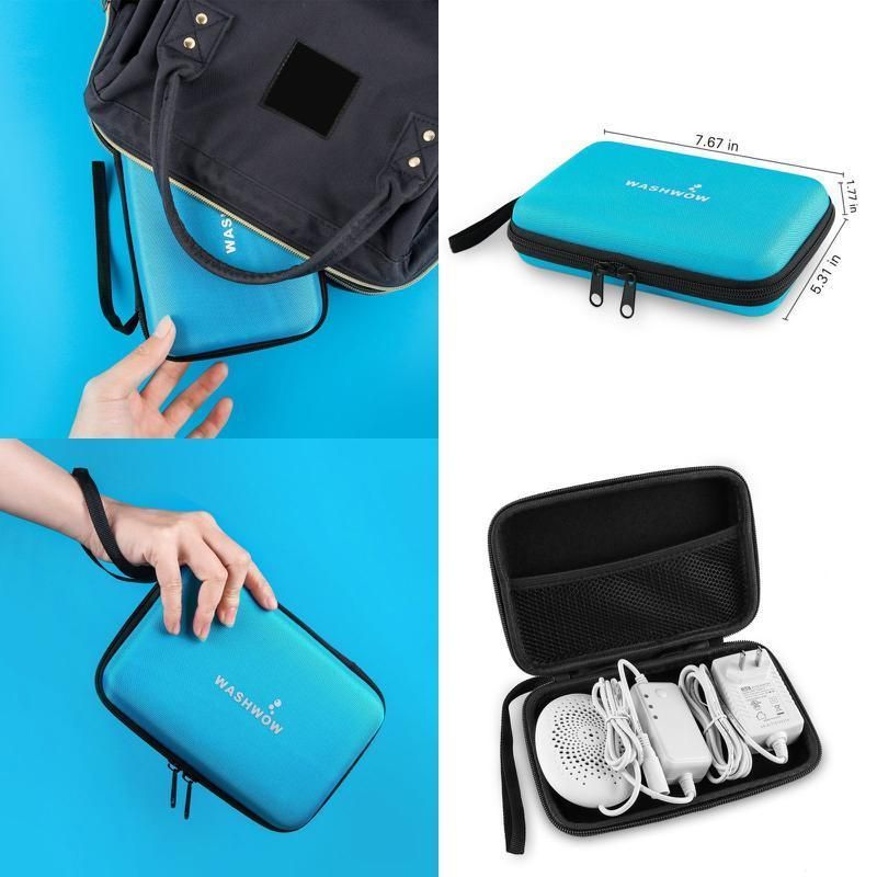 Hard Case For Portable Travel Washer Disinfectant Washing
