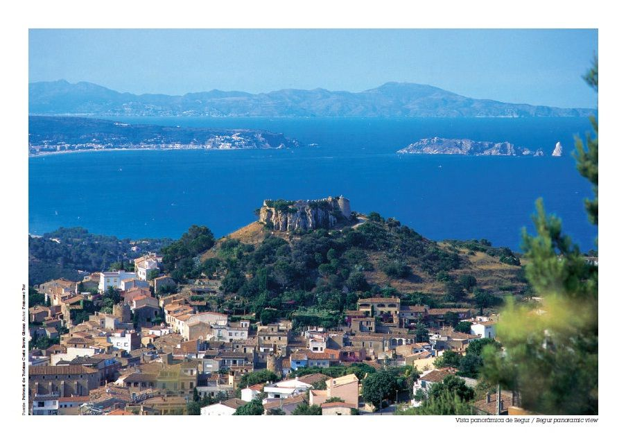 Begur Catalogne Spain. A very lovely and peacefull place in the Costa Brava.