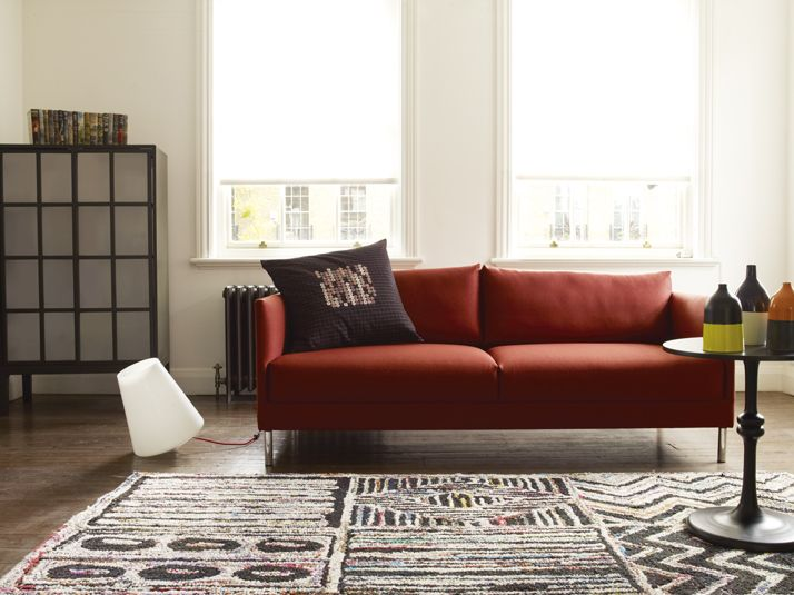 A well designed living room will help you relax with the Hyde sofa