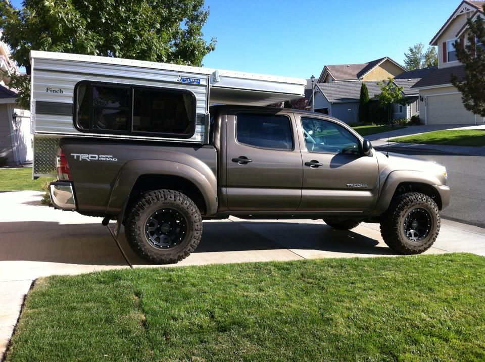 Adventure Truck Retrofitted A Toyota Tacoma With A Bed And Drawer