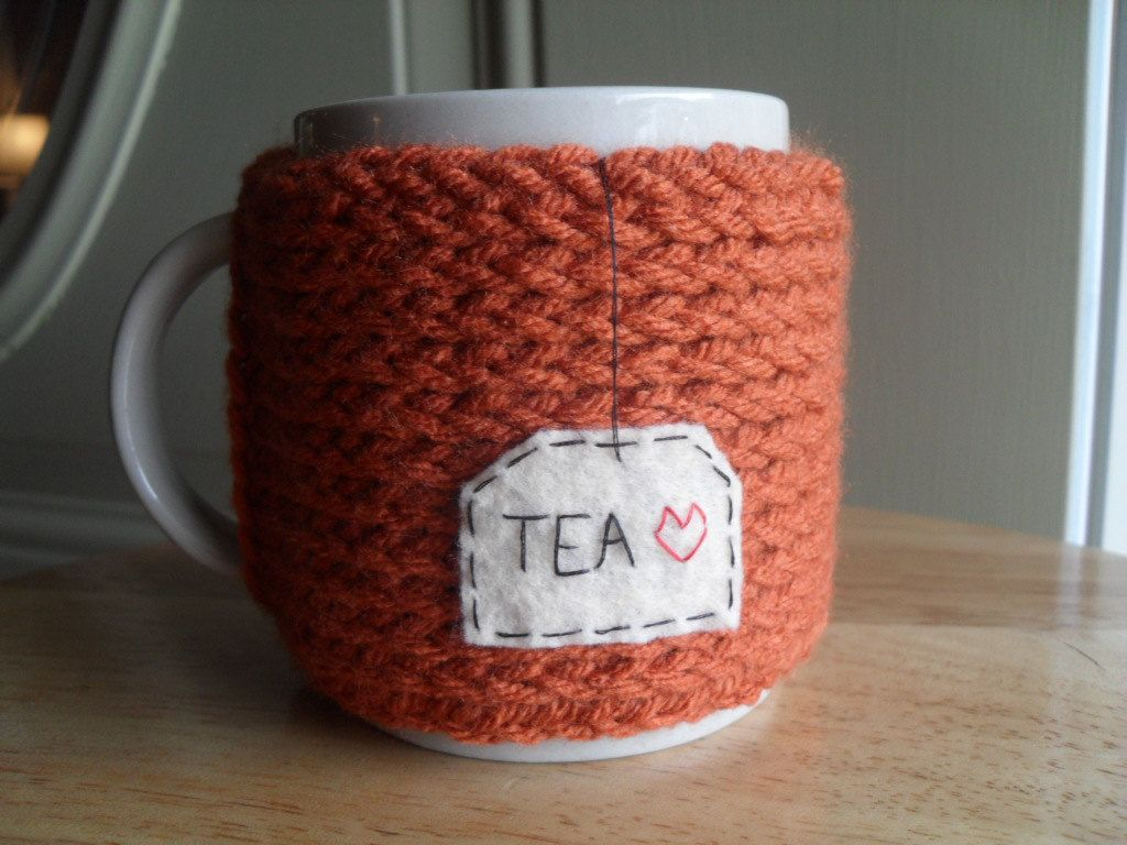 Knitted Mug Warmers Pattern Choice Image - handicraft ideas home ...