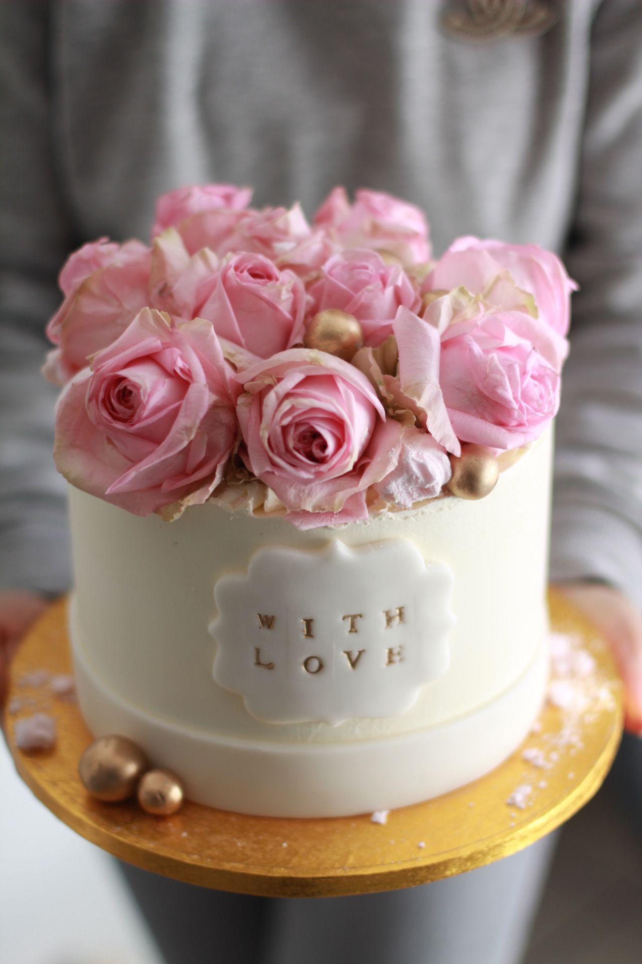 Flower Box Cake Brownies Recipe Homemade Cake Box Cake