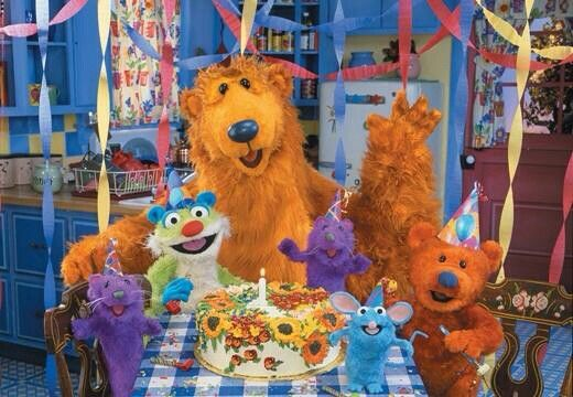 Bear Tutter Treelo Ojo Pip And Pop Big Blue House 90s Tv